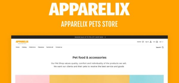 Apparelix-Pets-Online-Store-Template-Nulled-Download