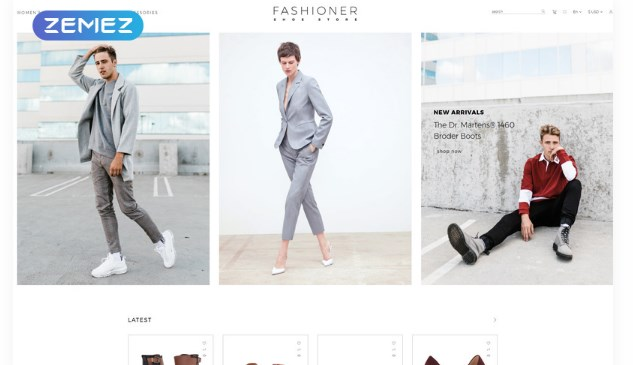 Fashioner-shoes-store-Nulled-Download