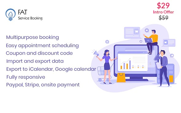 Fat Services Booking - Automated Booking and Online Scheduling Nulled