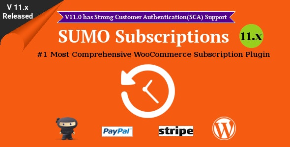 SUMO Subscriptions - WooCommerce Subscription System Nulled