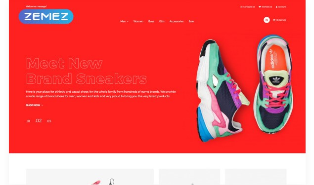 Snookio – Shoe Store eCommerce Clean OpenCart Template