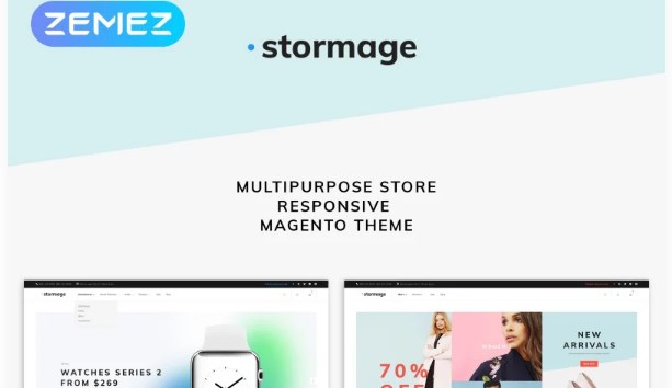 Stormage – Fashion Clothes Magento Theme