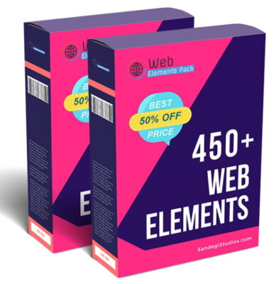 450+ Top Quality Web Elements Pack (Fixed)