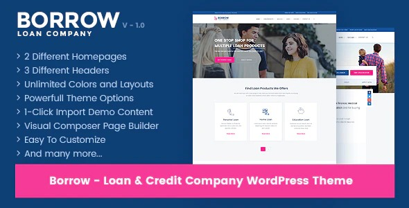 Borrow-Loan-Company-Responsive-Nulled-Download