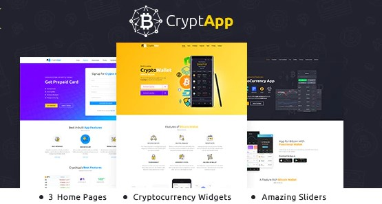CryptApp-Landing-Page-Theme-Nulled-Download