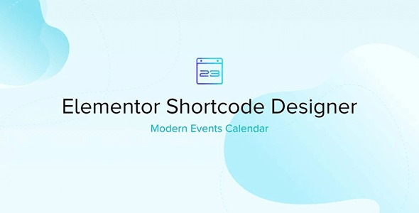 Elementor Shortcode Designer for Modern Events Calendar (MEC) Nulled