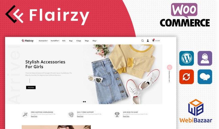 Flairzy WooCommerce Theme Download