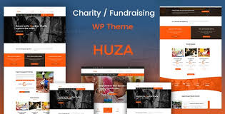 Huza - Charity Responsive WordPress ThemeDownload