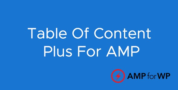 Table-Of-Content-Plus-For-AMP-Nulled-Download