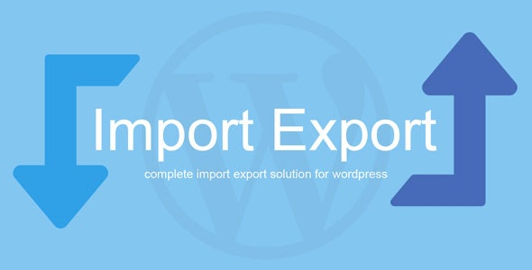 WP Import Export Nulled v.1.6.3