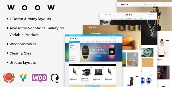 WOOW-Responsive-WooCommerce-WordPress-Theme-Nulled-Download