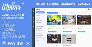 WPLMS Learning Management System, Education Theme nulled download