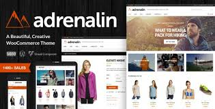 Adrenalin – Multi-Purpose WooCommerce Theme Nulled-Download