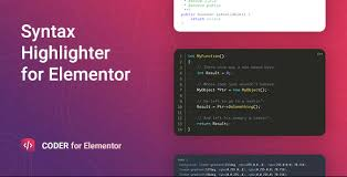 Coder-Syntax-Highlighter-for-Elementor-Nulled-download
