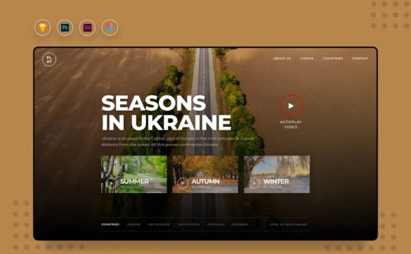 Daill V3 Video Landing Website UI Elements Template Monster 109489 Nulled Download