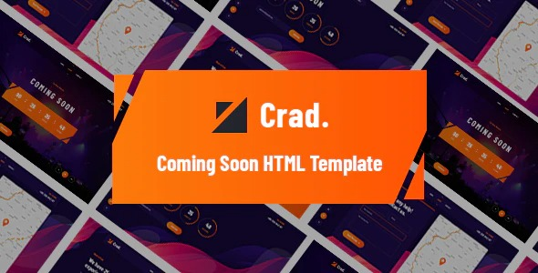Crad-Creative-Coming-Soon-HTML5-Template-Nulled-Download