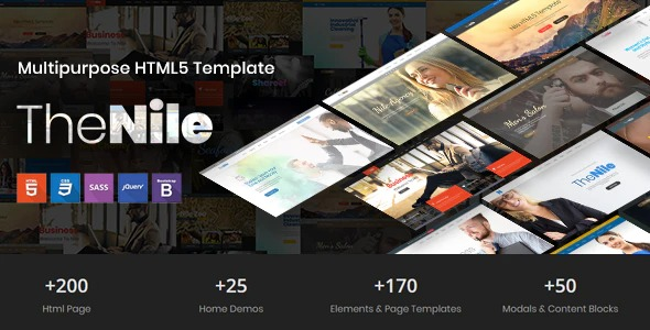 TheNile-Multipurpose-HTML-Template-Nulled-Download