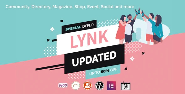 lynk-social-networking-and-community-wordpress-theme-Nulled-Download