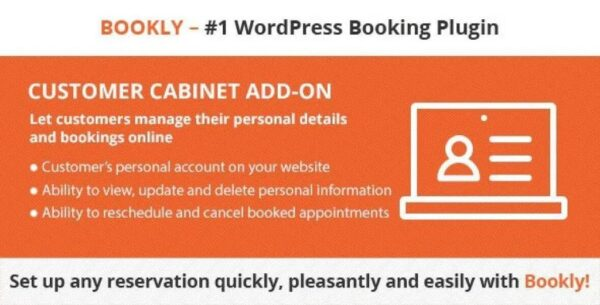 GDPR Solution – Bookly Customer Cabinet (Add-on)Download