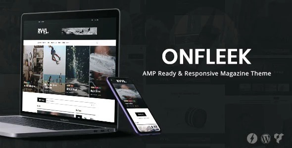 Onfleek-AMP-Ready-Responsive-Magazine-Theme-Nulled-Download