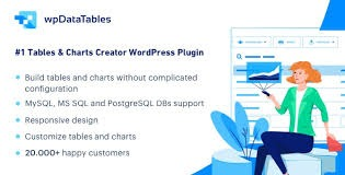 wpDataTables - Tables and Charts Manager for WordPressDownload