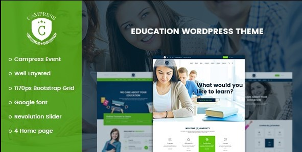 Campress-Responsive-Education-Nulled-Download