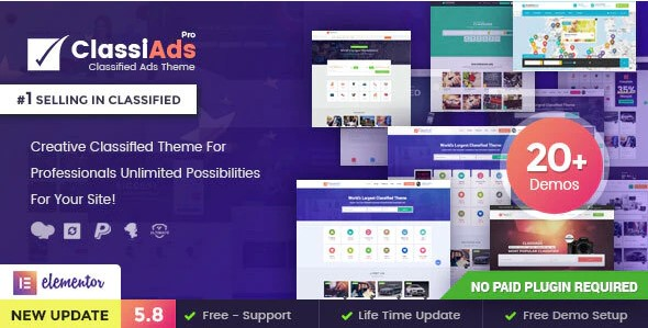 Classiads-Classified-Ads-WordPress-Theme-Nulled-Download