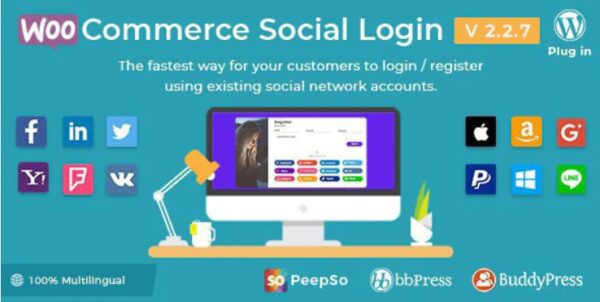 WooCommerce-Social-Login-Nulled-Download