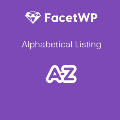 FacetWP Alphabetical Nulled