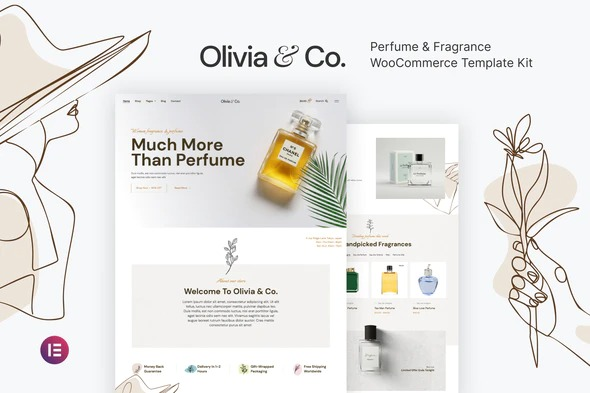 Olivia-&Co-Perfume&Fragrance-WooCommerce-Template-Kit-Nulled-Download