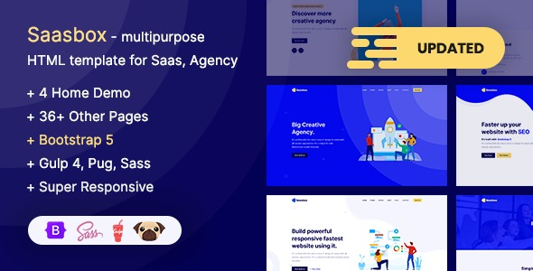 Saasbox-Bootstrap-5-Multipurpose-HTML-Template-for-Saas&Agency-Nulled-Download