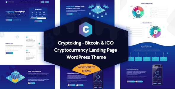 Cryptoking-Bitcoin-ICO-Theme-Nulled-Download