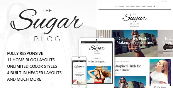 Sugar-Clean-Personal-WordPress-Blog-Theme-Nulled-download