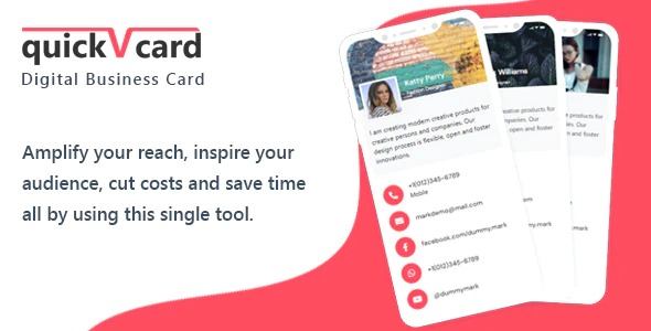 QuickVCard-Digital-Business-Card-SaaS-PHP-Script-Nulled-Download
