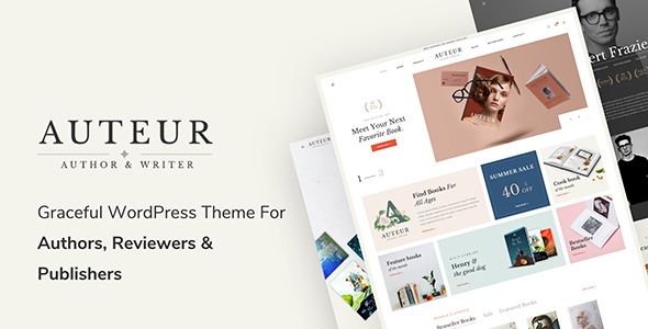 Auteur-WordPress-Theme-for-Authors-and-Publishers-Nulled-Download