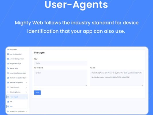 MightyWeb Flutter Webview - Convert Your Website To An App + Admin Panel Nulled Free Download