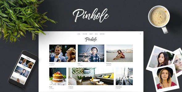 Pinhole - Photography Portfolio & Gallery Theme for WordPress Nulled Download