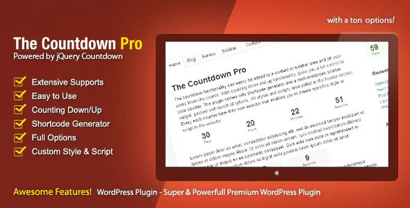 The Countdown Pro Nulled Download