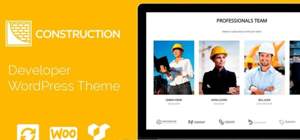VisualModo Construction WordPress Theme Nulled Download