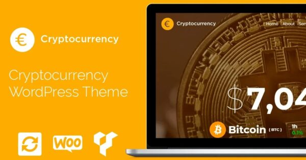 VisualModo Cryptocurrency WordPress Theme Download Nulled